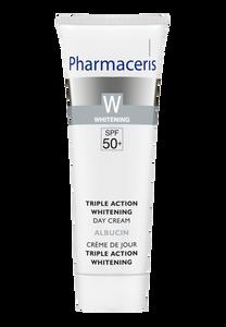 Pharmaceris W TRIPLE ACTION SKIN LIGHTENING DAY CREAM SPF 50+ ALBUCIN 30 ml