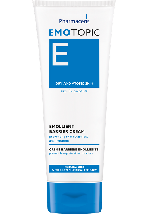 Pharmaceris E EMOLLIENT BARRIER CREAM for face and body, for hands, elbows, knees 75 ml